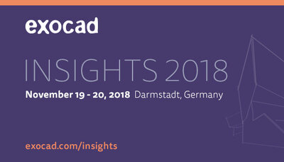 exocad Insights 2018: Der Countdown läuft